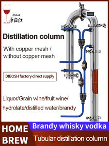 Distillation-Tower Whiskey Brewing-Tools Moonshining Beer Brandy Red-Wine New-Product