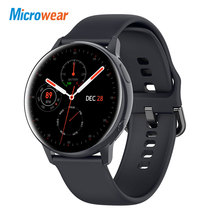 2020 yeni Microwear SG2 akıllı saat ekg çağrı mesaj hatırlatma IP68 su geçirmez tam dokunmatik HD ekran Smartwatch Android/IOS