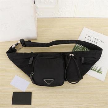 New Men Casual Waist Pack Bag Brand Canvas Shoulder Fanny Packs Women Belt Bag Pouch For Money Phone Black Bum Hip Bag