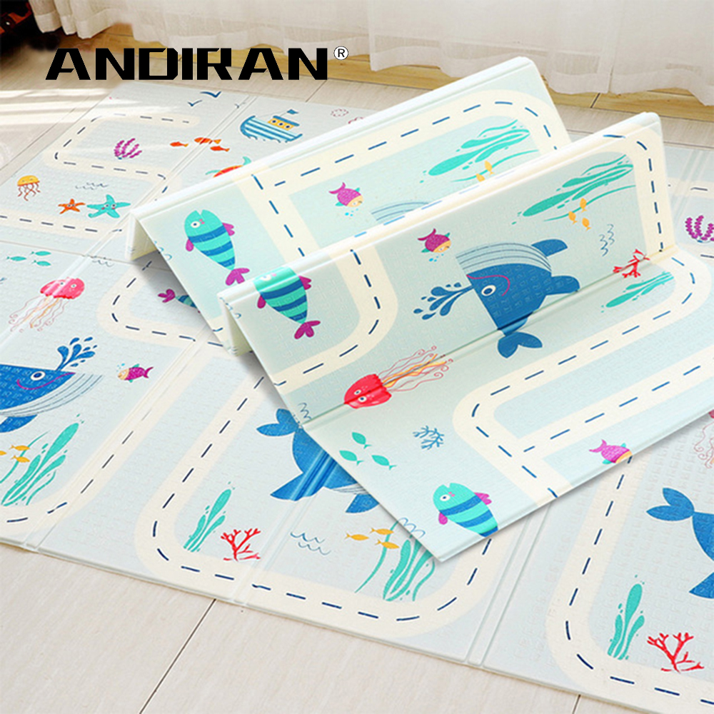 XPE Folding Baby Play Mat 1cm Thick Crawling Toys for Children s Carpet Climbing Gyme Game Innrech Market.com