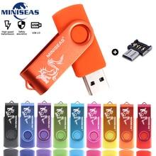 Usb Flash Drive Miniseas Dragon Mini High Speed Pen 4GB 8GB 16GB Memory cle Stick 2.0 Pendrive 32GB 64GB