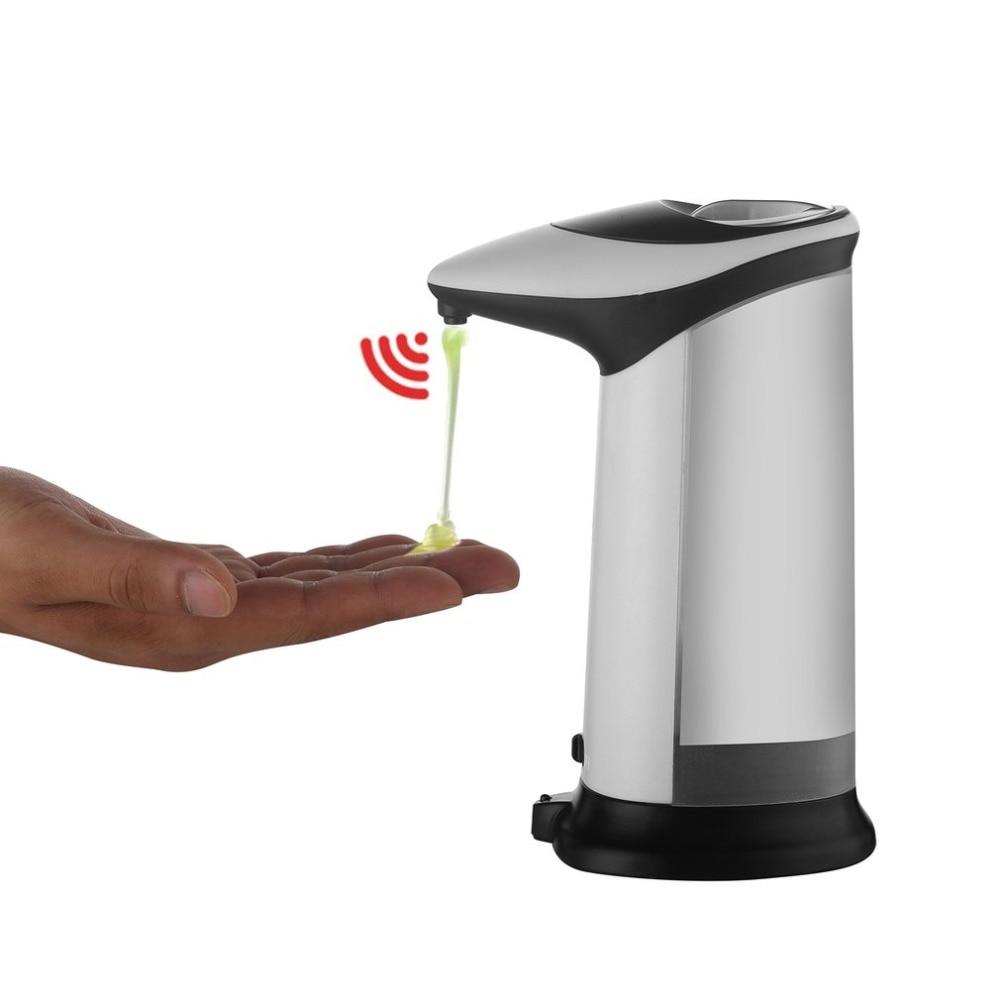 Smart ABS Infrared Automatic Soap Liquid Dispenser Touchless Auto Sensor Soap Dispenser For Kitchen Bathroom 420ML
