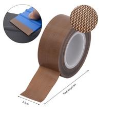 EHDIS 5M Vinyl ściągaczka PTFE z taśmą antypoślizgową narzędzia do owijania krawędzi filc skrobak Protector wodoodporna naklejka Remover barwienie okien narzędzie