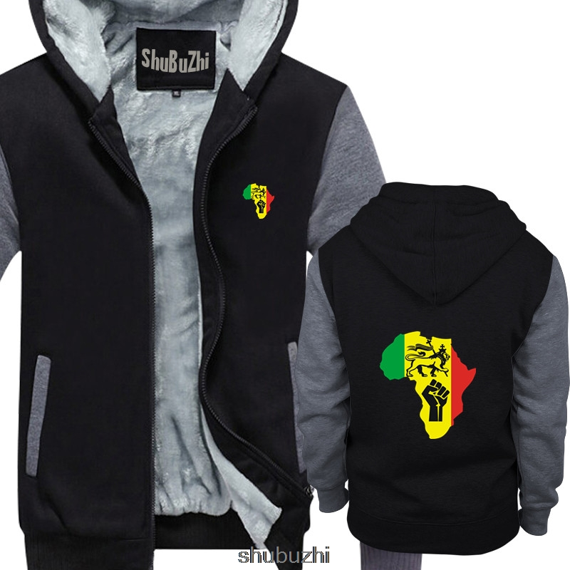 Lovers Winter African Long Sleeve Dashiki Hoodies Sweatshirt Top 3D Print Er-023