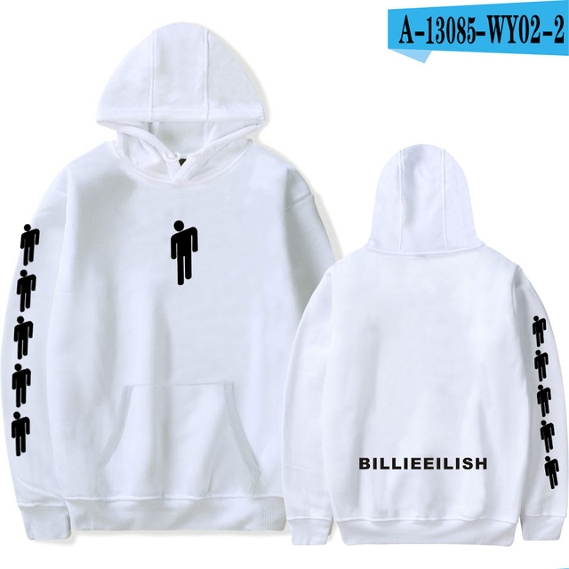 Billie Eilish Hoodie Pullover Oversized hoodie Hip hop Hoodies Men Streetwear Sweatshirt Harajuku Black Hoodies Plus size Hoodie