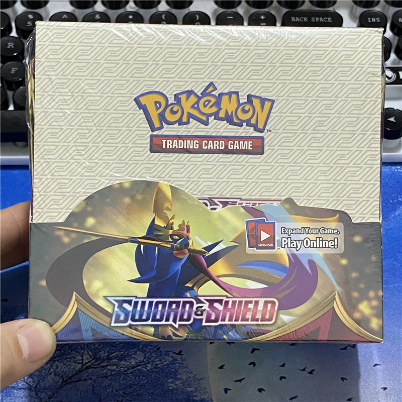 324 Cards Pokemon Card Sword & Shield Cosmic Eclipse Booster Box (Pack of 36) Trading Card Game Kids Collection Toy gift 6