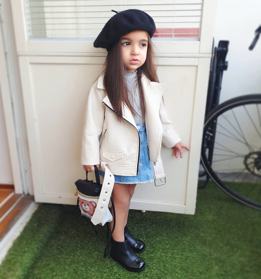 Kids Leather Jackets Girls 2019 Spring Autumn Coats and Motorcycle Toddler Boys Outerwear