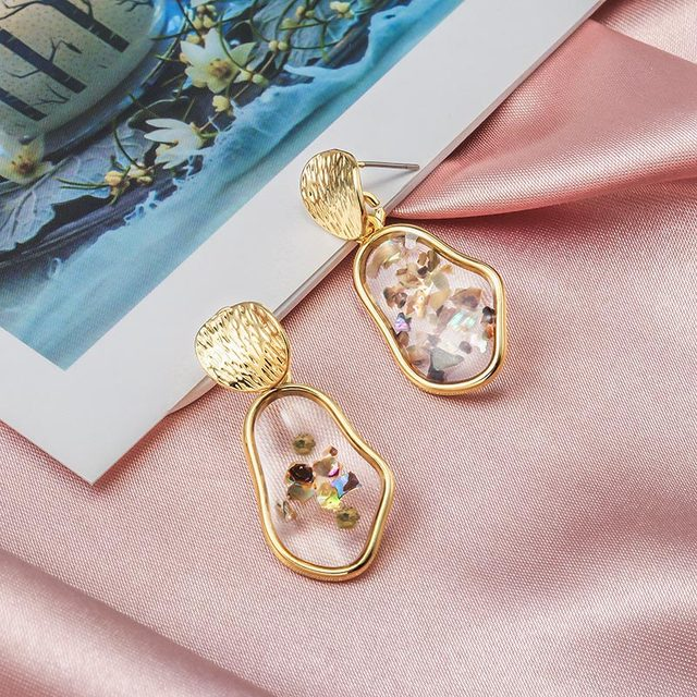Round and Triangle Earrings - 29 Style 3