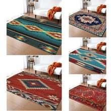 Винтажный коврик glorystar в этническом стиле для гостиной дома