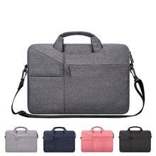 Bolsa de ombro para laptop, bolsa para huawei matebook x pro e d hz w09 w19 13 13.9 12 14 15 capa bolsa de mão da bolsa do tablet 15.6