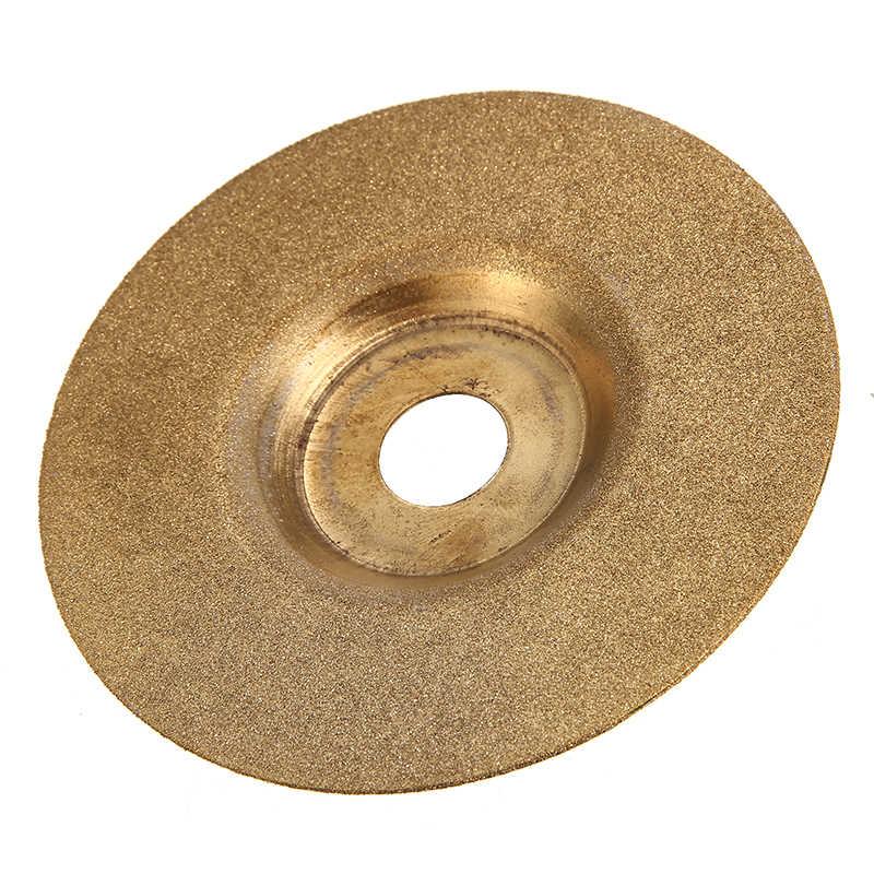 4 インチダイヤモンドコーティング砥石ディスクアングルグラインダー金属草研削ホイールツール 100 ミリメートル * 16 ミリメートル