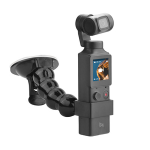Image 1 - 2in1 Adjustable Car Suction Cup Mount Holder & Expansion Adapter Mount For FIMI PALM Handheld Camera Car Holder Accessories
