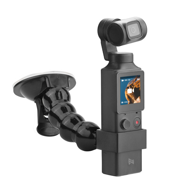 2in1 Adjustable Car Suction Cup Mount Holder & Expansion Adapter Mount For FIMI PALM Handheld Camera Car Holder Accessories