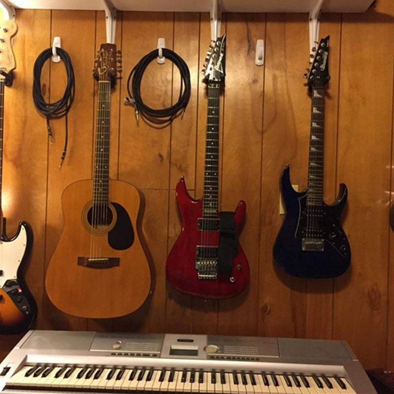 Gitarrenhalter Halter Haken 5/6/8 Stk. Wandhalterung für elektrische - Musikinstrumente - Foto 4