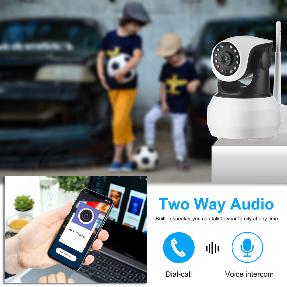 Image 3 - IP Camera Built in Battery Video Surveillance 3G 4G Sim Card 720P 960P 1080P HD Home Security Wireless WIFI Camera Infrared SD-in Surveillance Cameras from Security & Protection