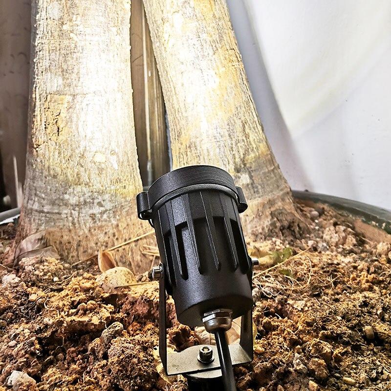 Açık bahçe lambası LED çim ışığı LED başak lambası su geçirmez gölet yolu peyzaj 12v 220v açık bahçe spot ışıkları