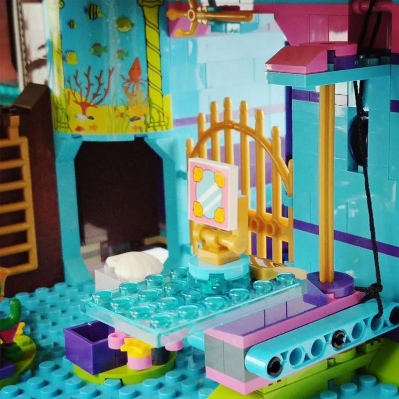 В наличии фильм серии 4160 шт. комплект наряда принцессы звезда несколько модель конструкторных блоков, Детские кубики, развивающие игрушки для детей, подарки на день рождения 5