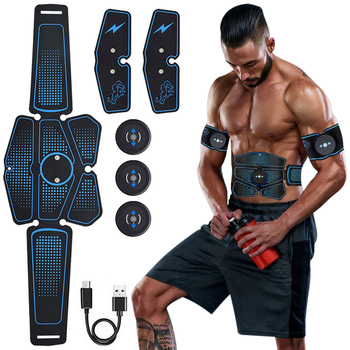 EMS Wireless Muscle Stimulator Abdominal Toning Belt Abdominal Muscle Trainer Exerciser Body Muscle ABS Fitness Gym Equipment ems abdominal muscle stimulator trainer exerciser hip trainer body slimming fat burning vibration fitness equipment gym workout