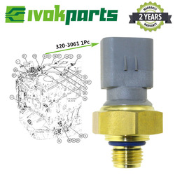 HEAVY DUTY niski czujnik ciśnienia paliwa przełącznik dla CAT CATERPILLAR ENGINE C15 C18 C4.4 koparka 312E 320-3061 3203061