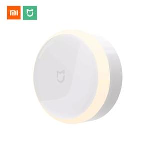 Image 1 - Xiaomi LED Lamp Corridor Mijia Night Light Infrared Remote Control Body Motion Sensor Smart Home Mi Home Light