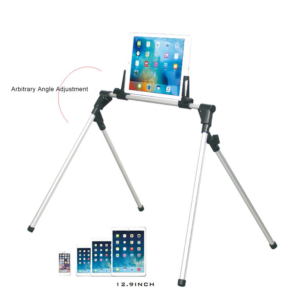 Auto Lock Tablet Mount Holder Floor Desktop Stand Lazy Bed Tablet Holder Mount Bracket