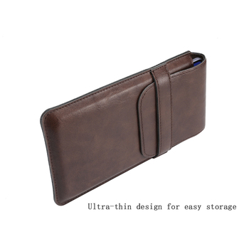Universal Leather Belt Clip Case, Utral Slim Casual Waist Pouch Case, Cell Phone Belt Pouch Case For Smartphone