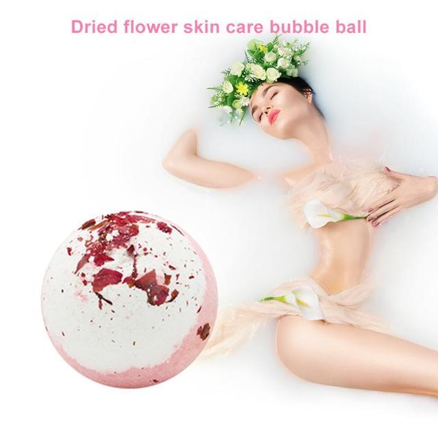 Natural Bubble Bath Salt Ball Environmental Protection and Durability Bomb Whiten Moisturize Exfoliating Soap Skin Care 5