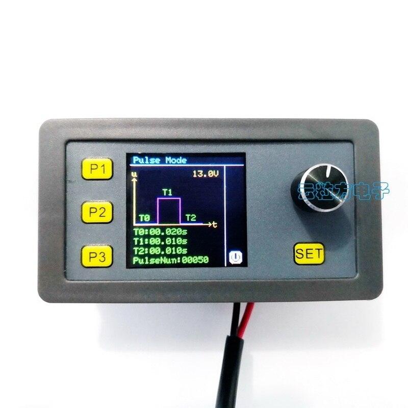 Ajuste funcional da onda senoidal do pulso de pwm das fontes do gerador do sinal do simulador 2-10v 4-20ma da tensão atual ajustável