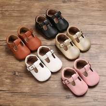 Shoes Toddler Baby PU 18M 1-Year First Non-Slip Soft-Sole Formal 0-18M Lovely