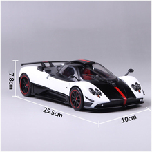 Diecast car 1:18 Scale Pagani Huayra Ghost of the Son Car Vehicles Model Toy cars 1/18 for Kids toys