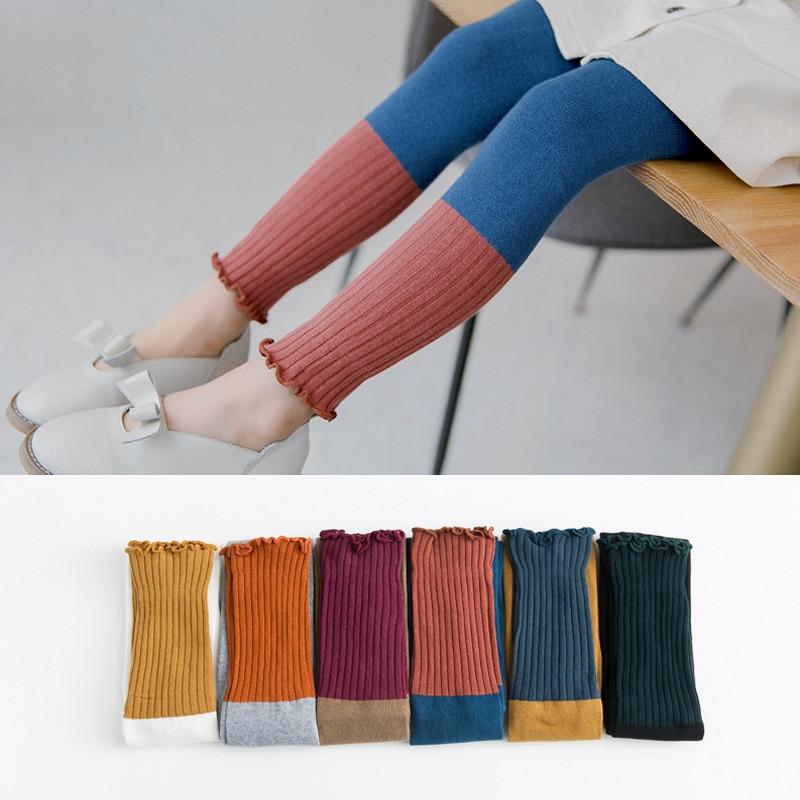 2020 Spring Girl Leggings Toddler Baby Basic Bottoms Pants Summer Cotton Baby Leggings Children Casual Trousers