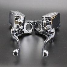 Accessoires pour Suzuki Intruder 800 1400 1500 cylindre 1 paire frein chromé