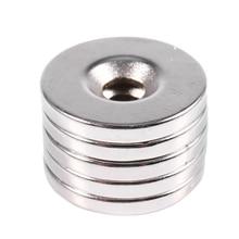 5 шт. N52 магниты для дисков неодимий редкоземельный магнит магнитный 20x3 мм с отверстием 5 мм