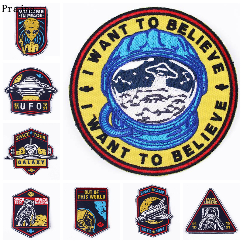APOLLO 11 Iron On Patch Embroidered Applique Sewing Label punk biker Patches