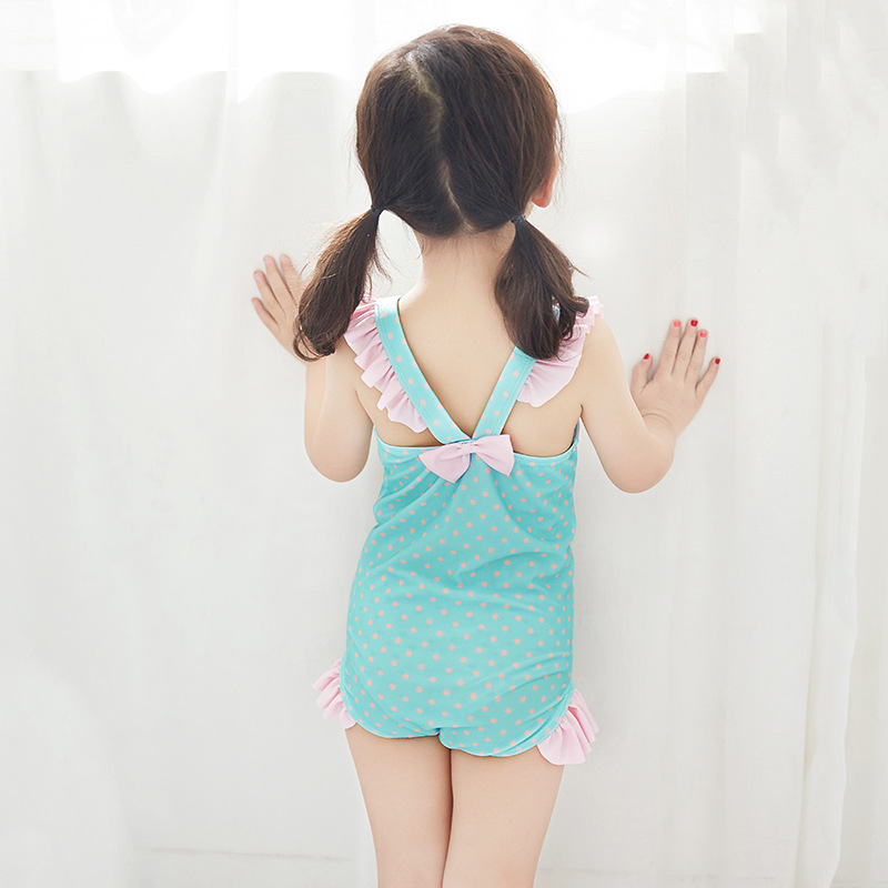 E KID'S Swimwear Girls CHILDREN'S Small CHILDREN'S Baby Infant GIRL'S Cute One-piece Swimwear Swimming Cap