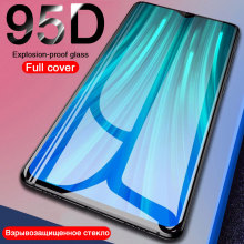 95D Tempered Glass For Xiaomi Mi 9 9T SE 8 A2 A3 Lite Protective glass on for Redmi Note 8t 7  K20 Pro Screen Protector Film
