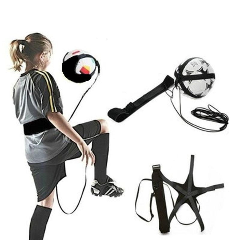 Soccer Trainer Football Kick Solo Trainer Belt Adjustable Swing Bandage Control Soccer Training Aid Equipment Waist Belts