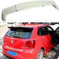 Поло FRP праймер задняя крыша спойлер крыло для Volkswagen VW Polo 2011-2015