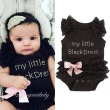 Baby Bodysuits Romper Toddler Jumpsuit Newborn Birthday Kids Boy Letter