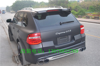 Fit for  Porsche 03-10 GTS Cayenne  modified carbon fiber rear wing rear spoiler wing