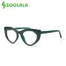 Soolala Винтаж очки для чтения «кошачий глаз» с женская обувь