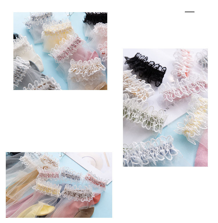 H33c1a83bbc134adabfb11aa1e456edf2z - Flowers Lace Ladies Sheer Socks Transparent Thin Crystal Silk Elastic Cotton Sole Elegant Women Ankle Socks New Girls Hosiery