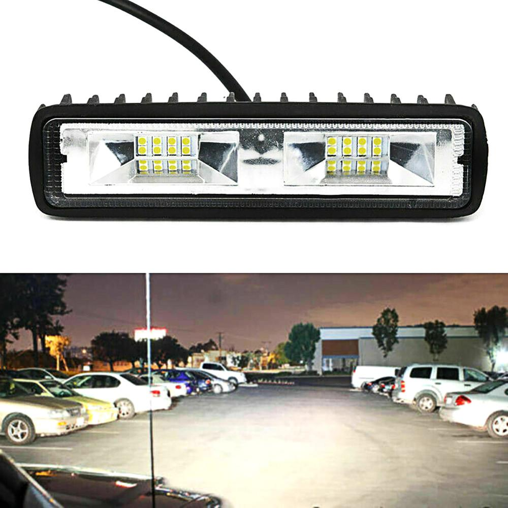 OLOMM New Led Light Bar Offroad Spot 12V/24V Work Light 18W Led Working Lights Beams Car Accessories For Truck ATV SUV