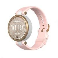 Silikon strap für Garmin Lilie Uhr Armband Ersatz Armbänder frauen Strap gürtel Smart Uhr Zubehör einfarbig band