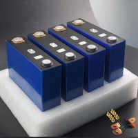 4 Uds nuevo 3,2 V 120Ah lifepo4 batería LFP 4S solar de litio 12v200ah celdas no 100Ah para el paquete EV Marina RV Golf UE libre de impuestos