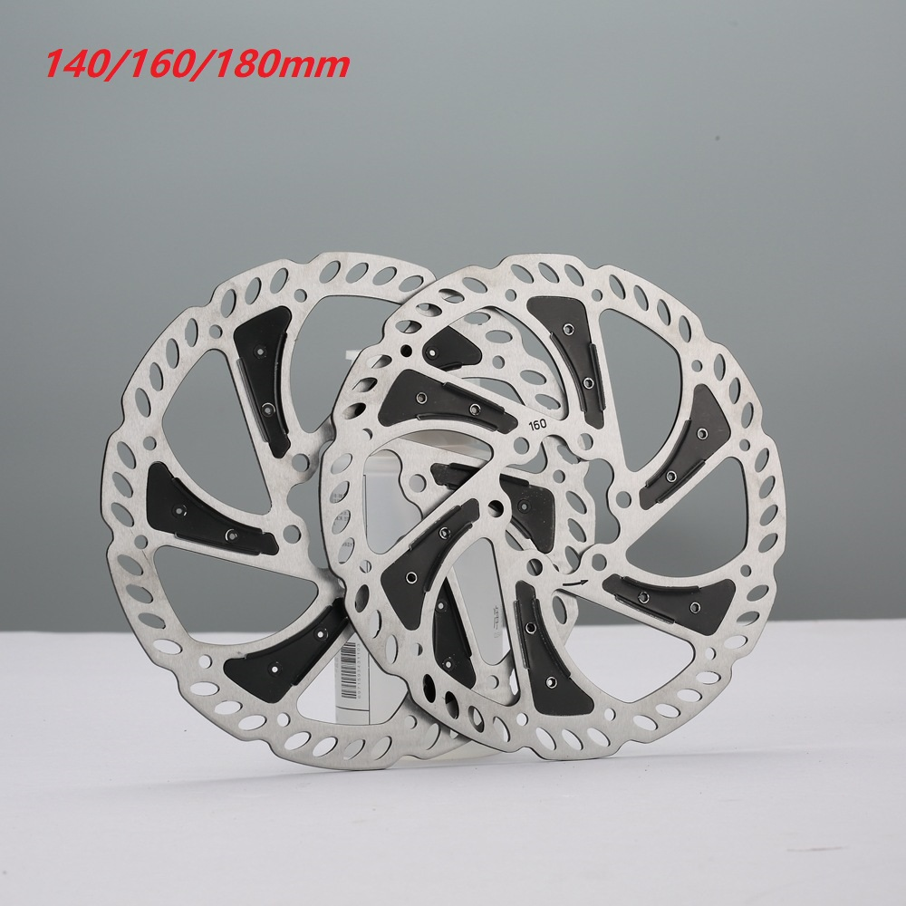Bicycle Disc Brake Rotor 160//180MM with 6 Bolts for Mountain Bike Road Bike MTB