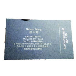 Azure blau name karte druck/visitenkarte/250gsm