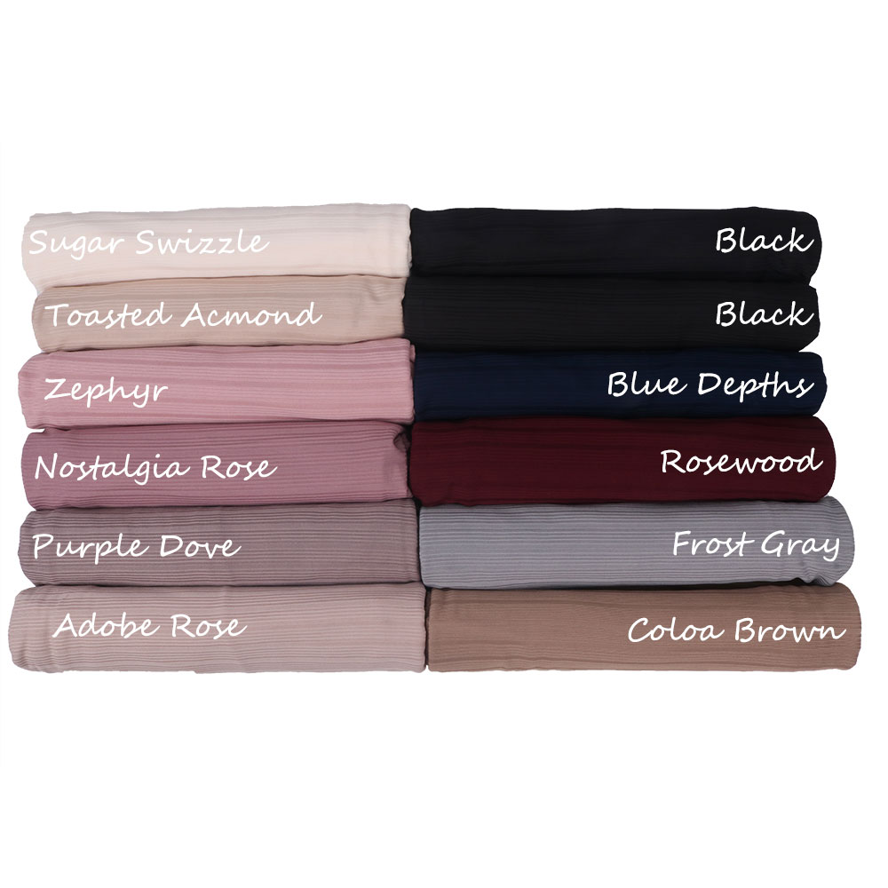 Roma lined plain stretchy ribbed jersey hijab  Hijabs Long Muslim women Shawls Wraps Solid Color