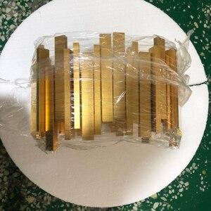 Image 4 - Luxury LED Lustres de Cristal de Iluminação Para Cozinha sala de estar Lâmpada Quarto Lustre Loft Pendurado Cadeia Ouro Nórdico люстры