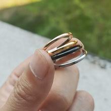 Высокое качество 2 мм Оптовая Продажа простое кольцо модное